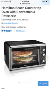 Hamilton beach convection oven.
