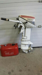 2 Outboard Motors - 6hp $400 and 9hp $550