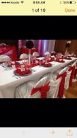 NICE CHAIR COVER,*TABLECLOTH,*BACKDROP*