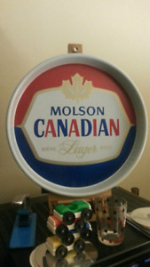 Vintage Molson Canadian Advertising Beer Tray
