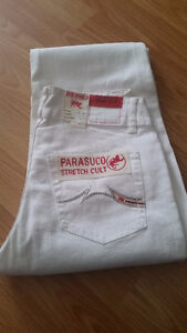 Brand new white stretch jeans