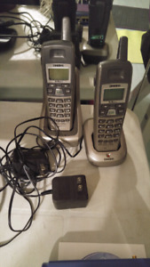 Wireless phone uniden barely used