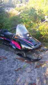 340cc clean sled