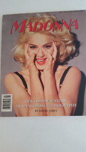 Madonna book from 1991