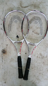 Great couple of Head tennis rackets for cheap!!