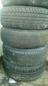 2 sets of tires/rims with good tread