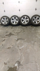Dodge 1500 rims  and tires