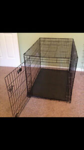 XL large dog kennel collapsible great condition
