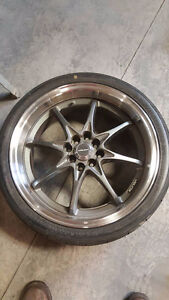"18"" rims and tiers"