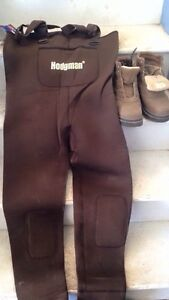 Chest Waders and wading boots