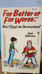 For Better or Worse comic pocket books