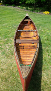 Classic canoe for sale!