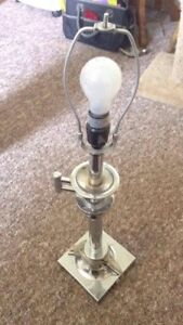 Silver Adjustable Lamp
