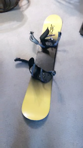 Jabra snowboard with bindings 160 cm