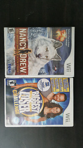 Lot of 5 Wii games (1 unopened)