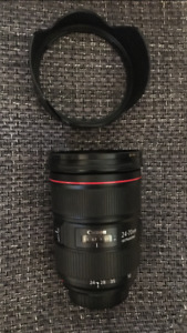 Canon 24-70mm f/2.8L II with B+W MRC filter