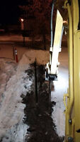 MINI TRACK HO SPECIFICALLY DESIGNED FOR ELECTRICAL TRENCHING!!