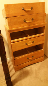Solid wood chest for sale!