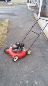 Yard Machines 3.5hp lawn mower