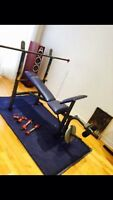 Bench modele wm 356 competitor