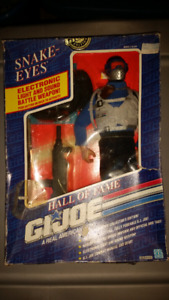 "Vintage gi joe 12"" snake eyes figure."