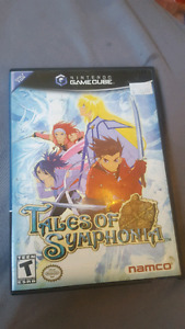TALES OF SYMPHONIA FOR NINTENDO GAMECUBE THIRTY DOLLARS