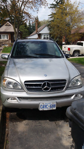 2003 mercedes benz ml500 etested $1850