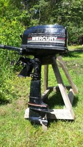 4 hp 2-stroke, long shaft Mercury OBM