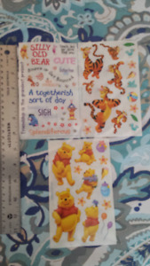winnie the pooh scrapbooking stickers