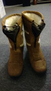 Pajar Suede, Warm Wintet Boots, Size 6.5