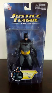 Justice League Classic Icons Batman MOC DC Direct