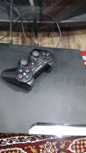 Ps3 slim, Comes with original box, controller and 15 games
