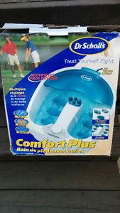 Bain de pieds avec bulles