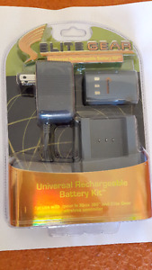 Universal Rechargeable Battery Kit for Xbox 360 & EliteGear Cont