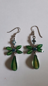 Earrings with stones for 7$