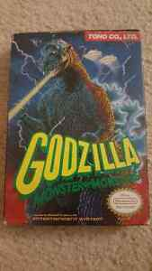 Godzilla NES