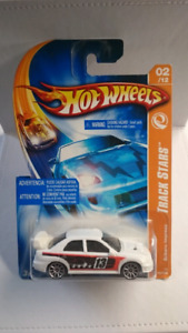 HOT WHEELS SUBARU IMPREZA TRACK STARS DIECAST 2007 MINT