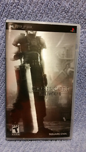 METALLIC Limited Edition CRISIS CORE Final Fantasy VII,MINT,PSP