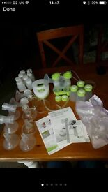 Ardo calypso electric double breast pump and breastfeeding bundle not madela