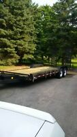 2010-24 Foot Float Axle Canada Trailer Excellent Cond.
