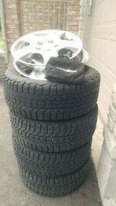 215/55 R16 Winter tires and Rims/hubcaps