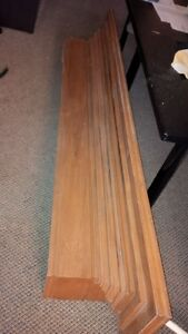 Solid Maple MANTLE - for Fireplace or Wall Display Kitchener / Waterloo Kitchener Area image 4