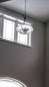 3 light foyer pendant