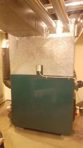 Newmac Wood/Oil Combo Furnace