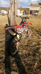 Honda CRF250R with papers!