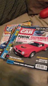 25 muscle car magazines