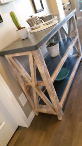 New Rustic Handmade Buffet table/Tv stand $495..