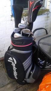 TAYLOR MADE SUPER STEEL BURNERS and TAYLOR MADE CART BAG