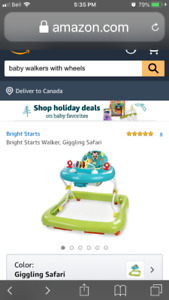 WANTED: Baby Walker with Wheels