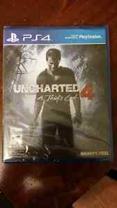 Uncharted 4 - New (unopened) PS4